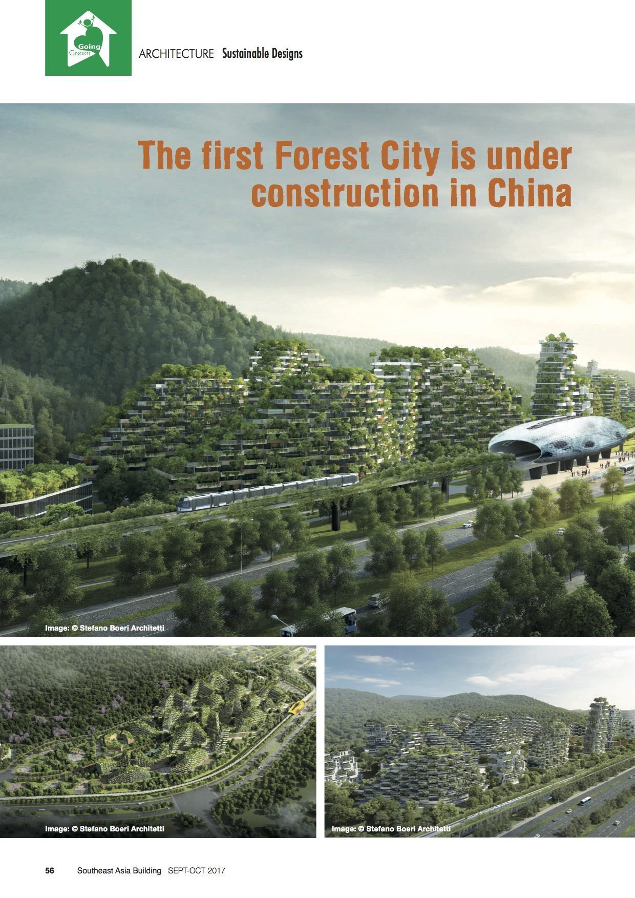 Southeast asia building liuzhou forest city stefano for Liuzhou forest city