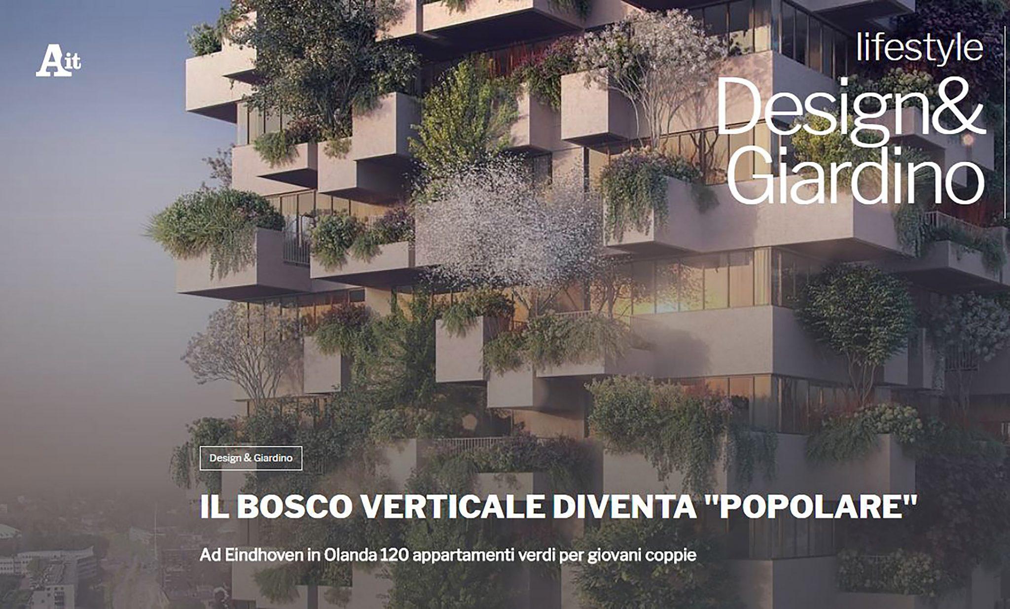 Bosco Verticale Appartamenti Costo ansa   il bosco verticale diventa popolare   stefano boeri