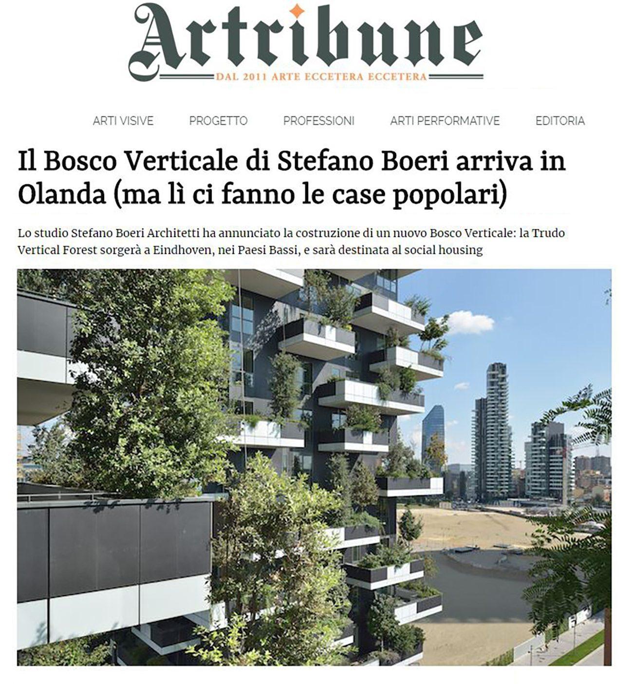 La Torre Dei Cedri A Losanna : Bosco verticale di milano stefano boeri il più bello