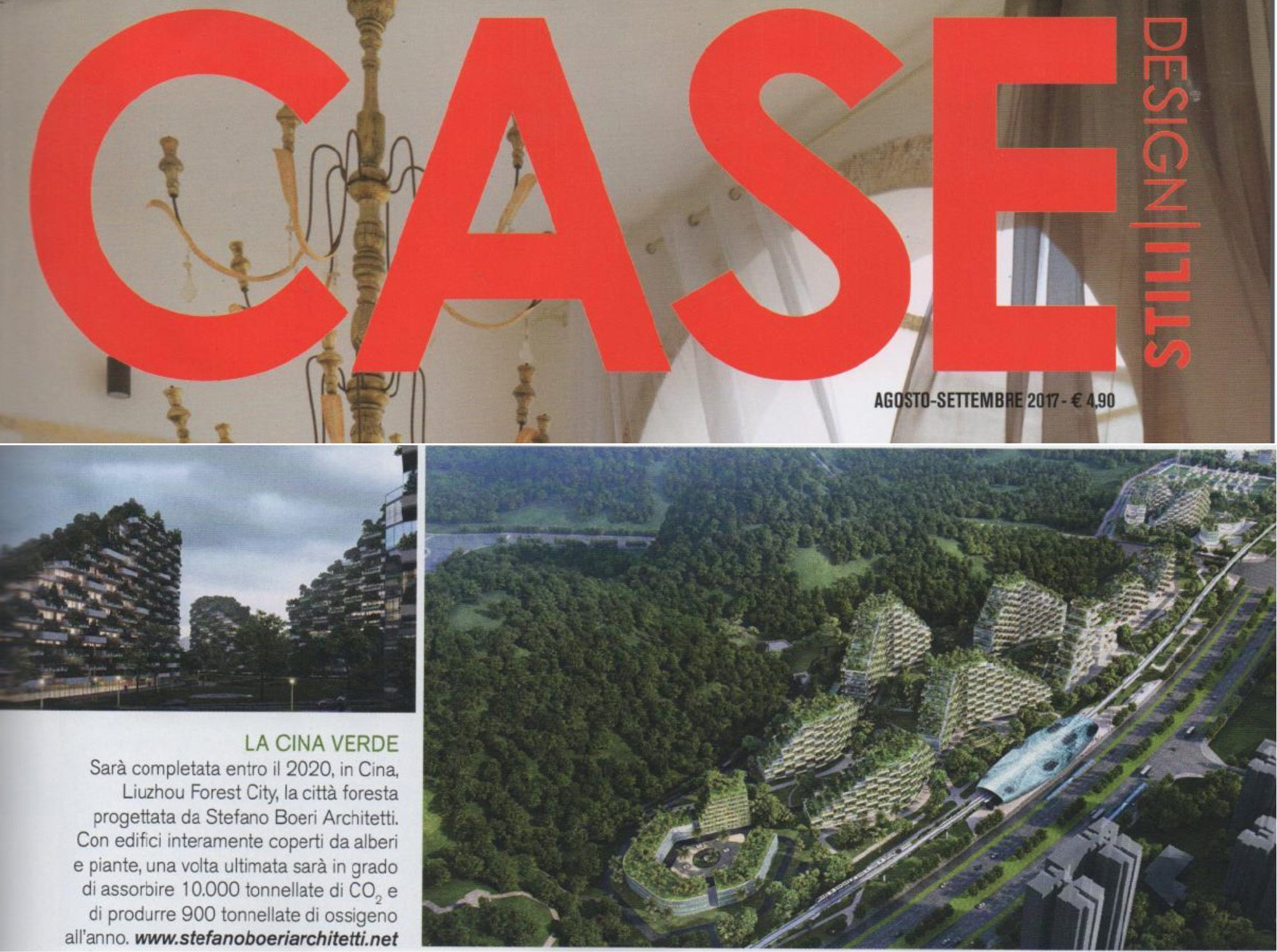 Case E Stili Design case design stili | the green china | stefano boeri architetti