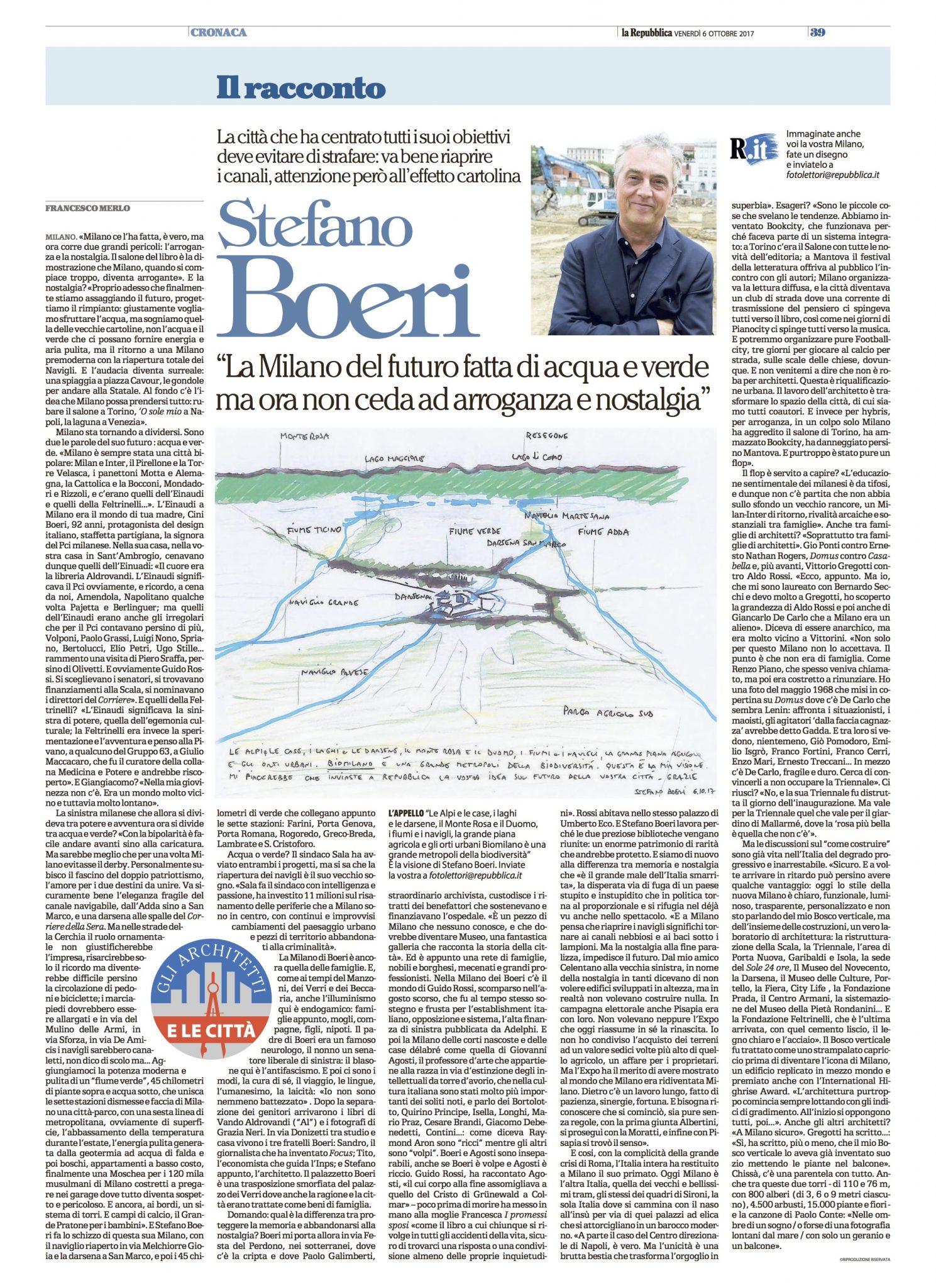 La repubblica stefano boeri stefano boeri architetti for Home page repubblica