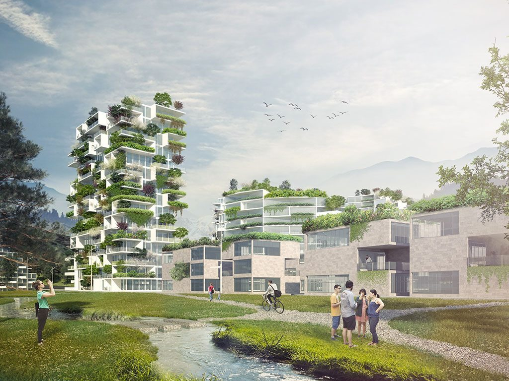 Stefano boeri architetti wins the competition for liuzhou for Liuzhou forest city