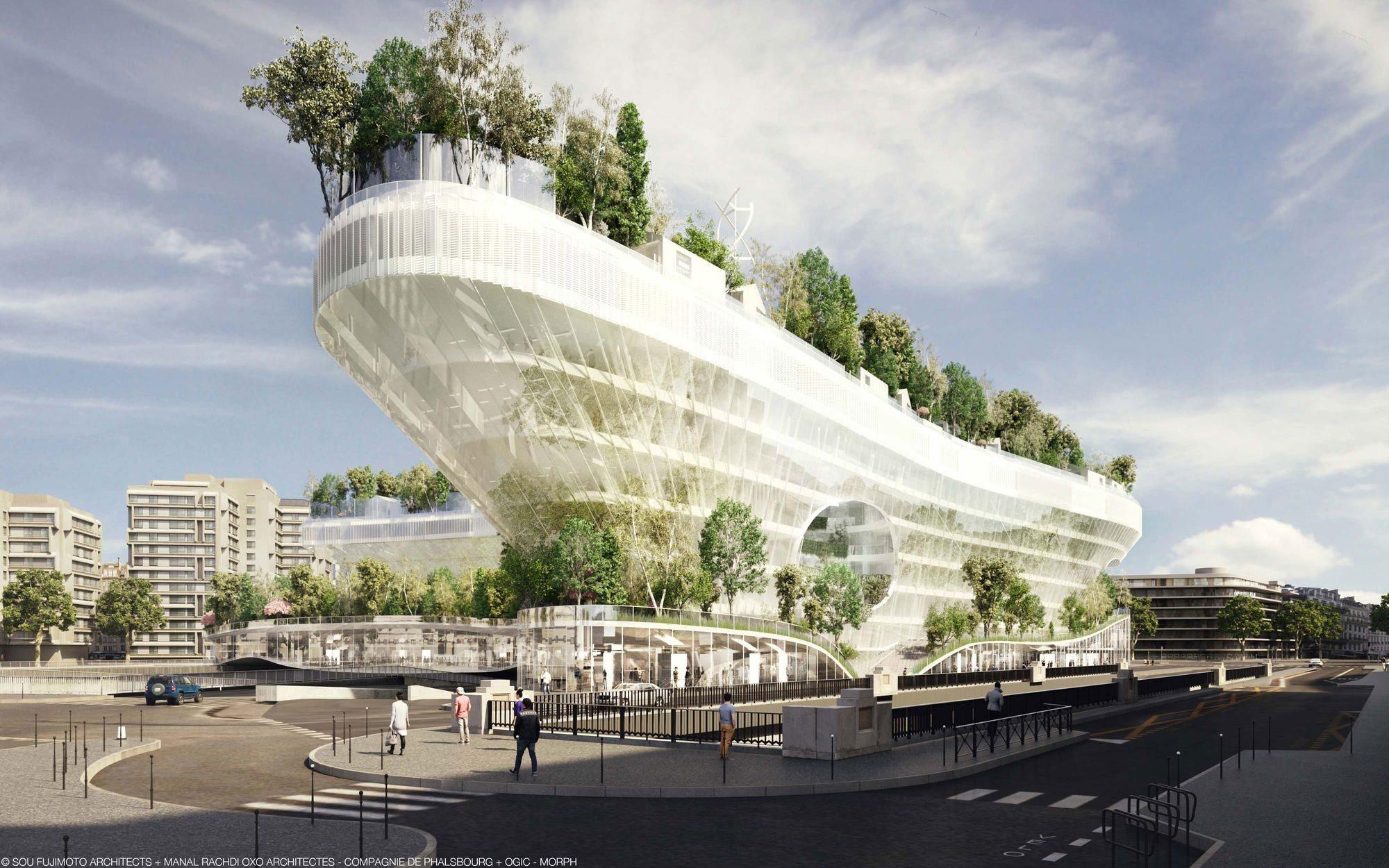 sou fujimoto oxo architectes milles arbres in paris stefano boeri architetti. Black Bedroom Furniture Sets. Home Design Ideas
