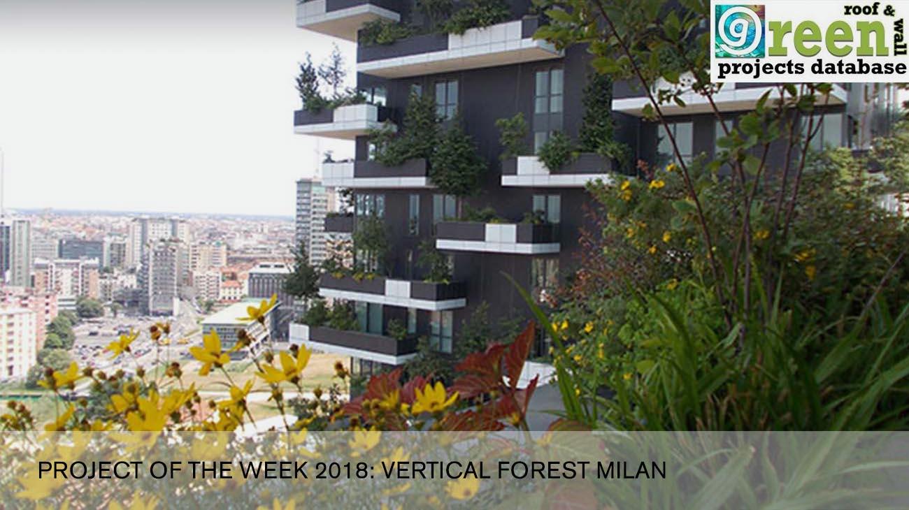 Foto Bosco Verticale Milano greenroofs   project of the week: bosco verticale milano