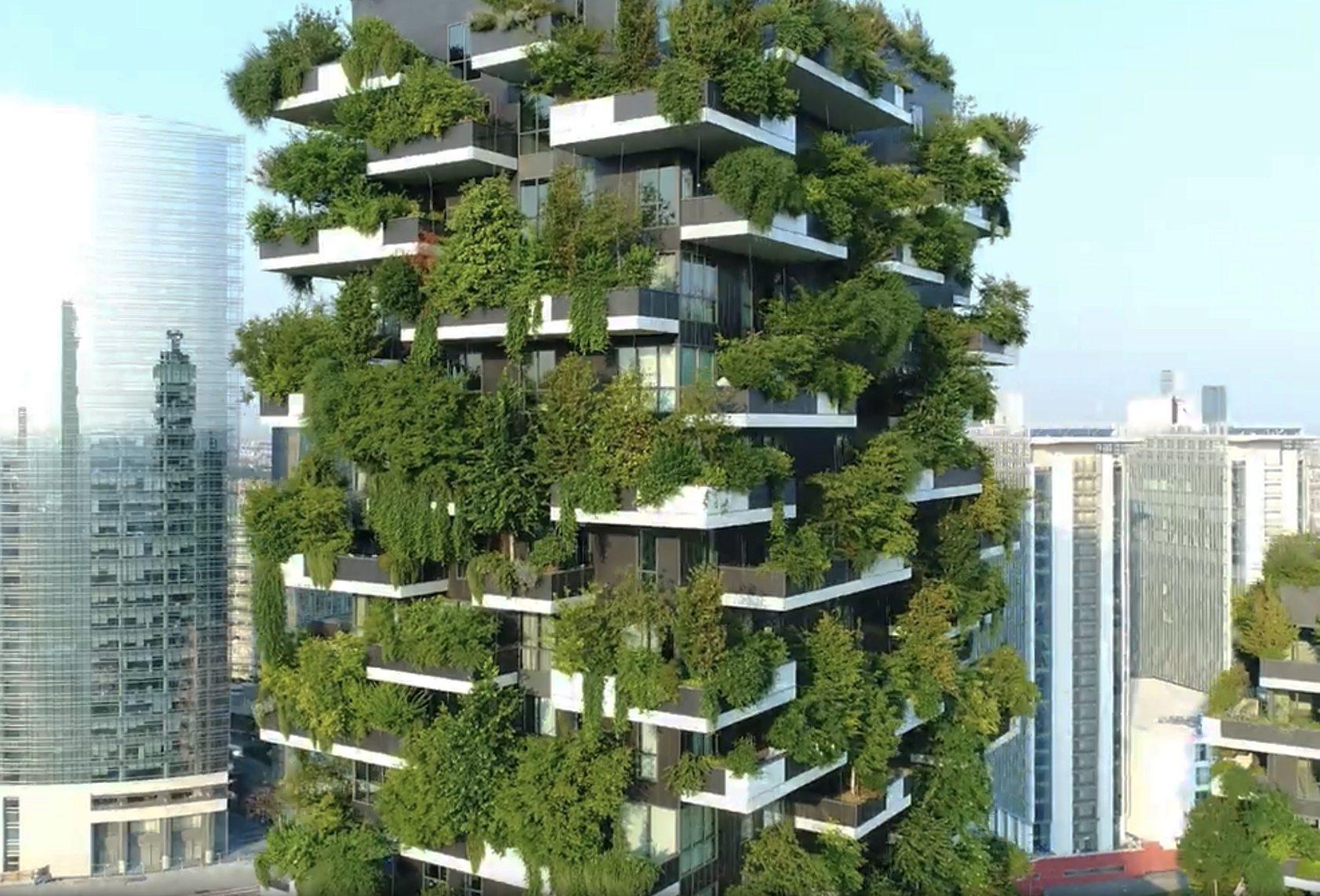 Bosco verticale stefano boeri architetti for Giardini verticali milano
