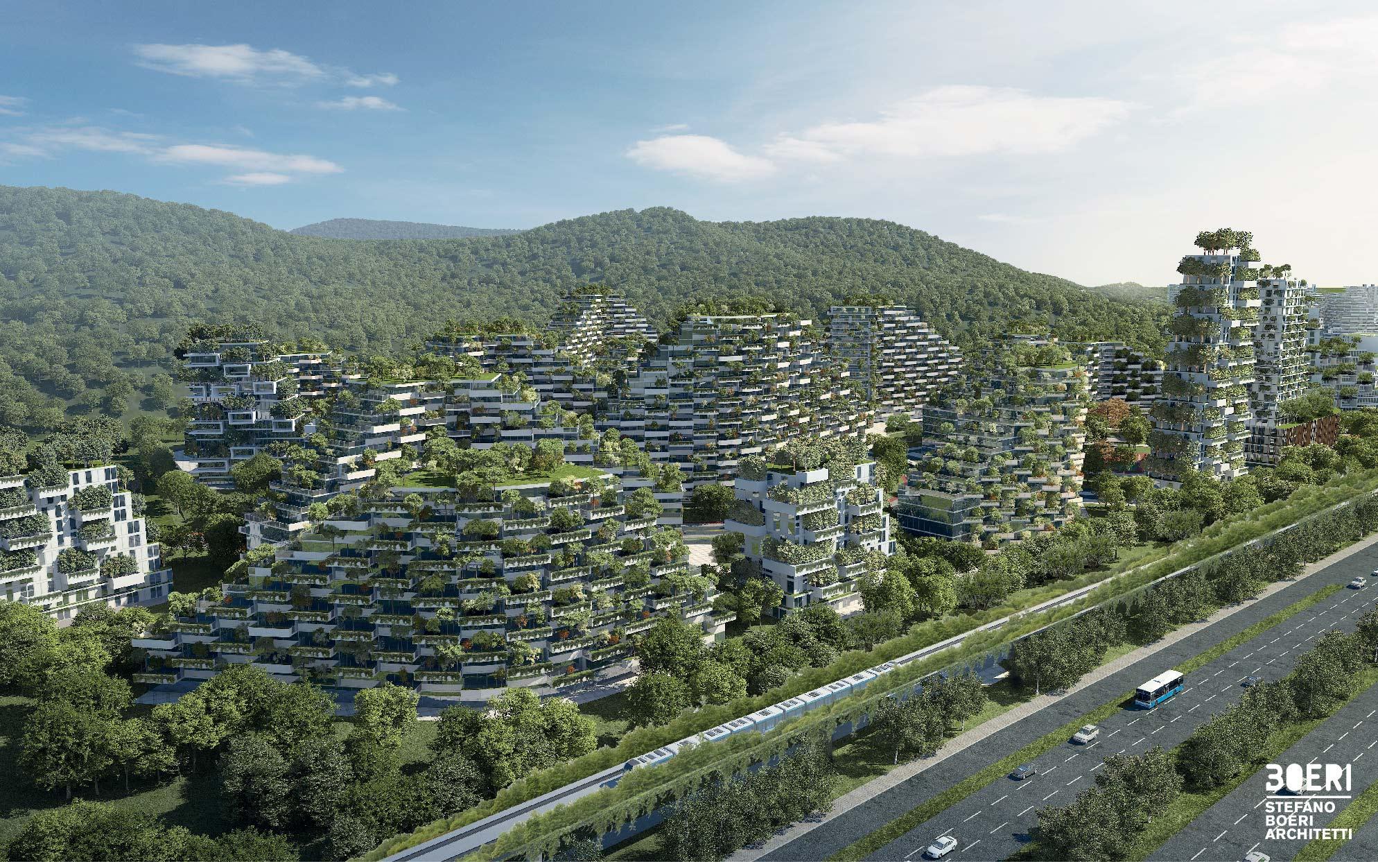 Risultati immagini per liuzhou forest city