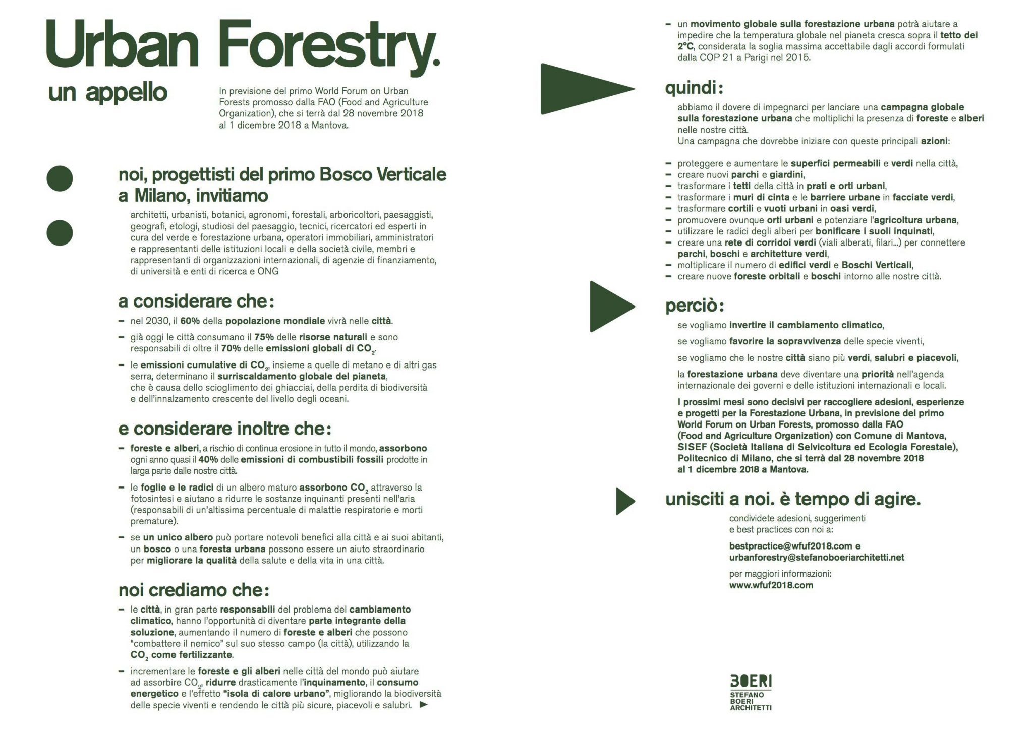 Agenzie Immobiliari Mantova urban forestry, a call to action | stefano boeri architetti