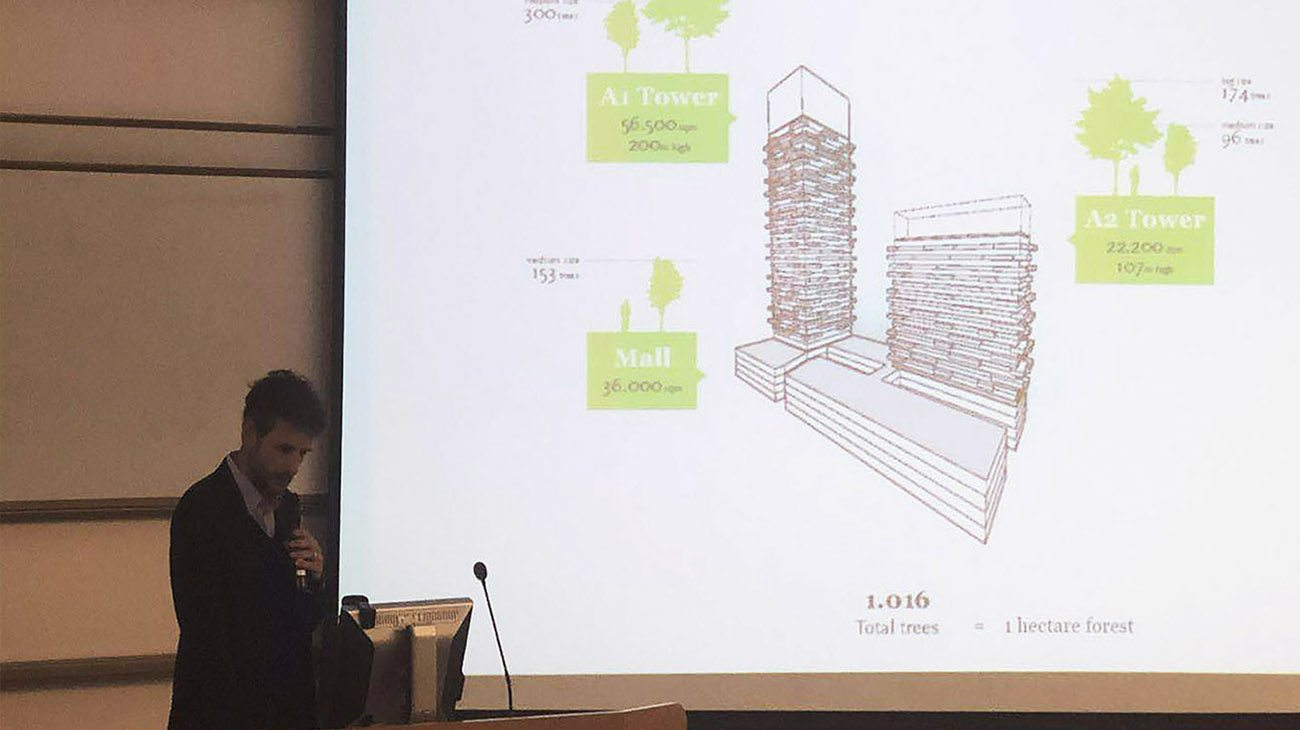 design shanghai | architect pietro chiodi delivers a speech