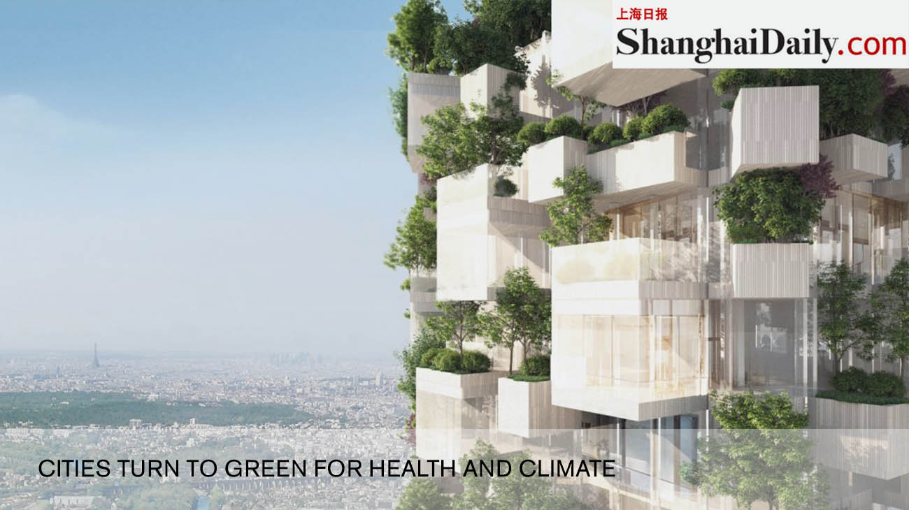 cities turn to green for health and climate
