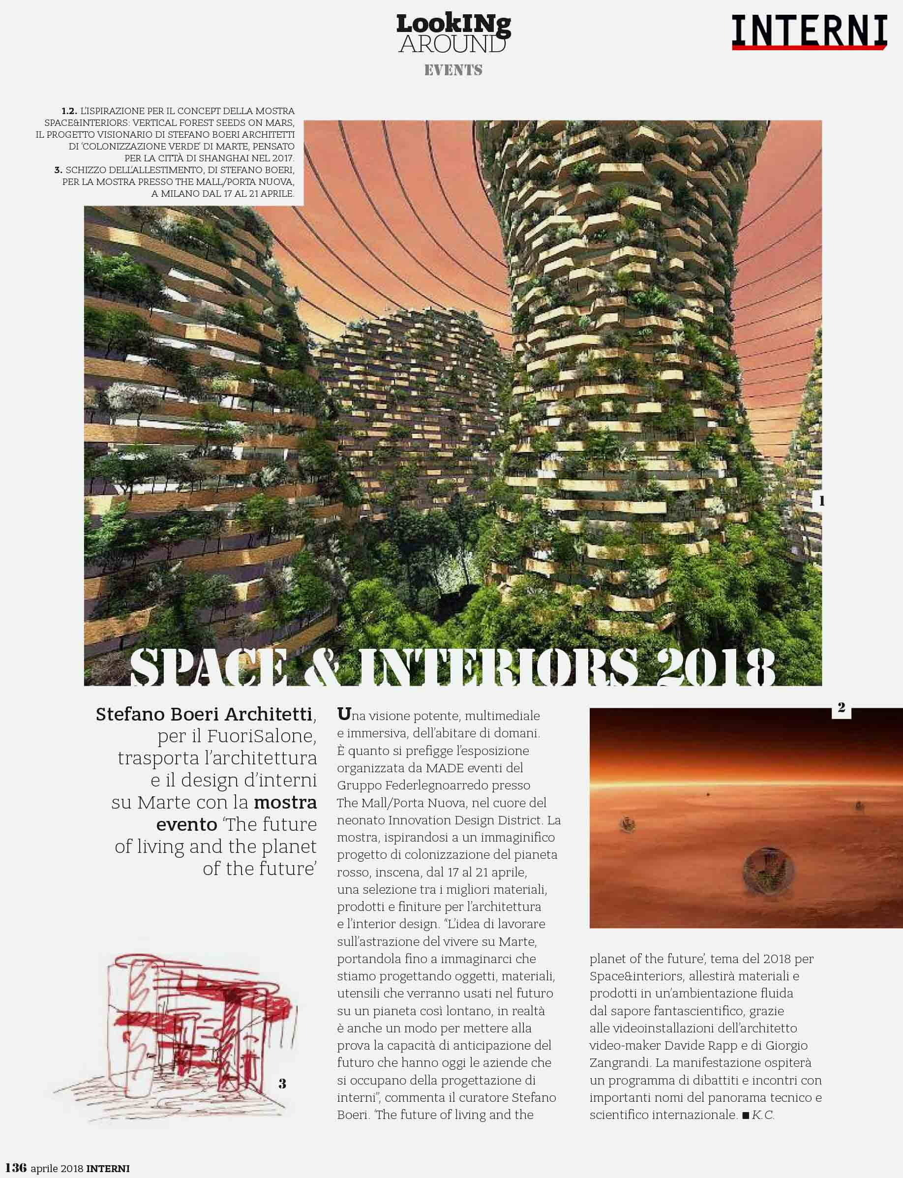 Mostra Design Milano 2018 the future of living and the planet of the future | stefano