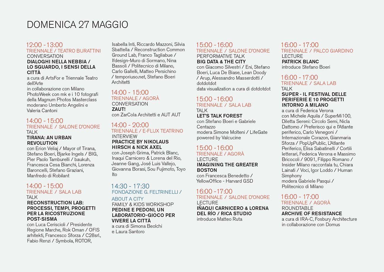 Studio La Sala Milano milano arch week | the program | stefano boeri architetti