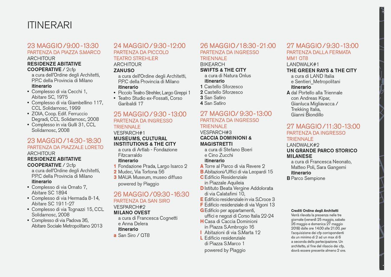 Ad P Architetti milano arch week   the program   stefano boeri architetti