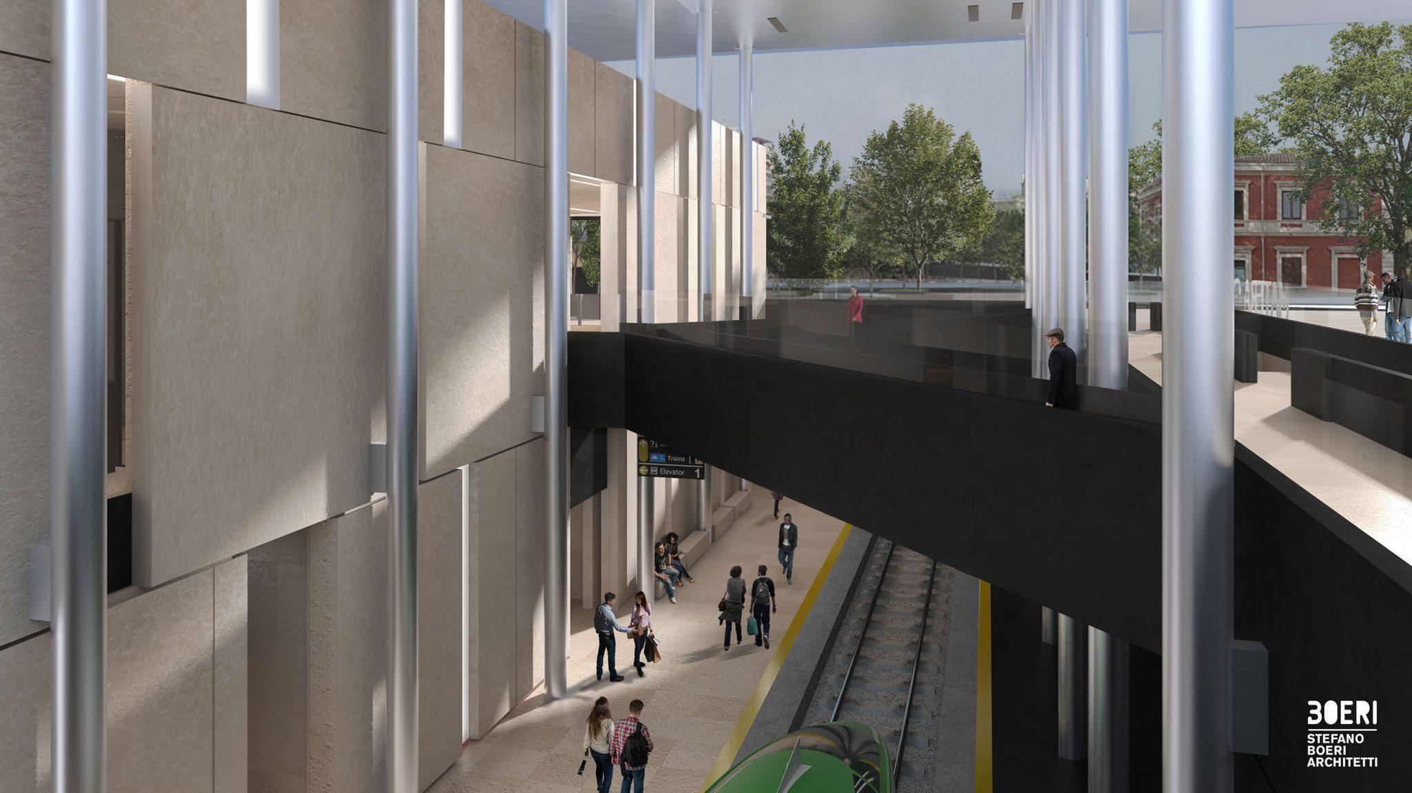 Stazione matera centrale stefano boeri architetti interni for Architetti d interni famosi
