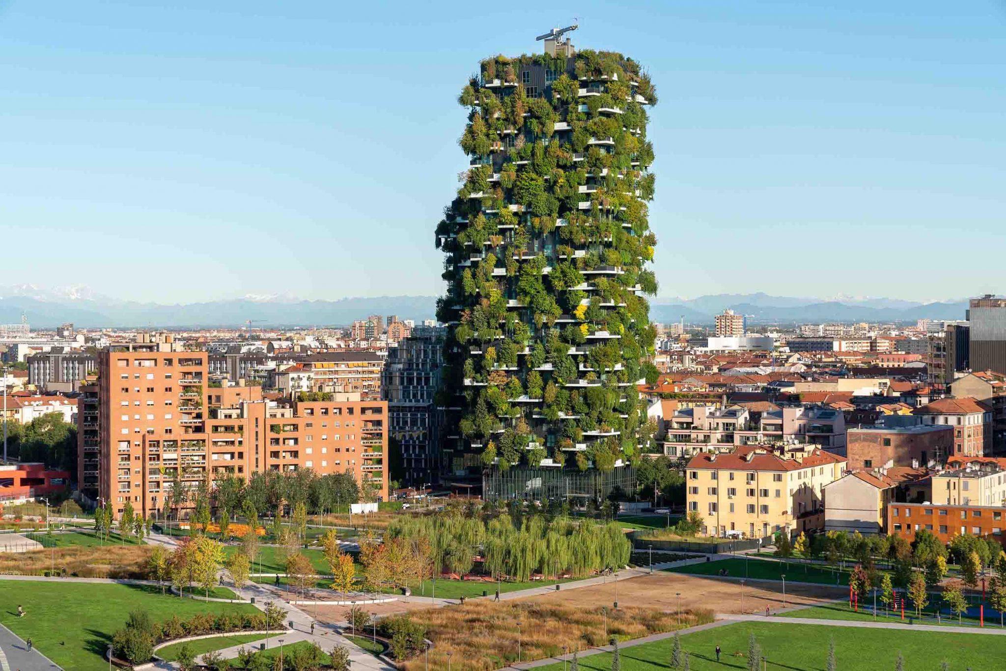 giardini verticali bosco verticale milano