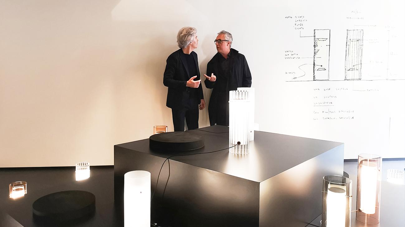 lasospesa per fontana arte | stefano boeri presenta la nuova lampada ...